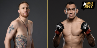 UFC Justin Gaethje and Tony Ferguson