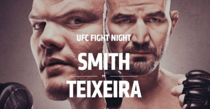 UFC Jacksonville results Anthony Smith vs Glover Teixeira