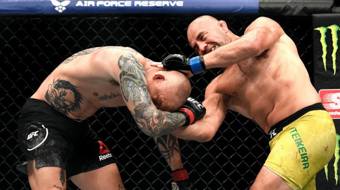 UFC Jacksonville Glover Teixeira vs Anthony Smith