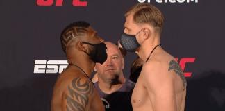 UFC Vegas 3 Blaydes vs Volkov