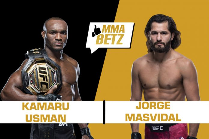 UFC 251 Kamaru Usman vs Jorge Masvidal