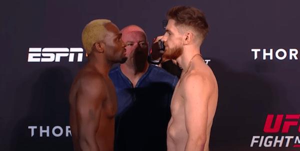 UFC Vegas 5 results Derek Brunson vs Edmen Shahbazyan