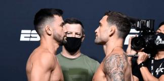 UFC Vegas 7 Munhoz vs Edgar