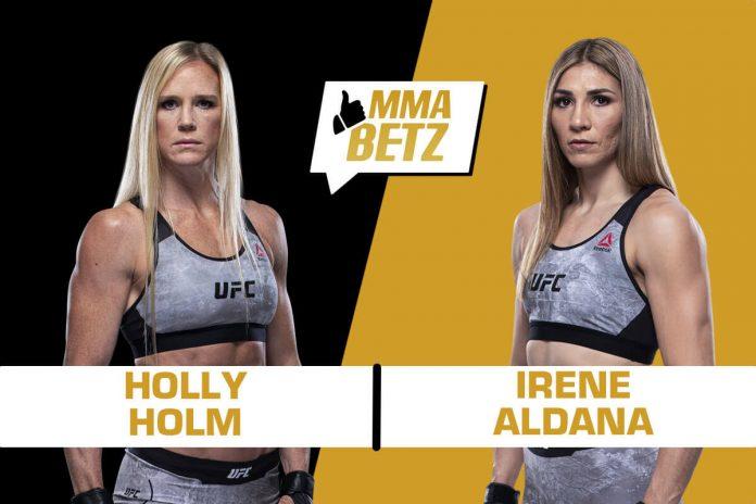UFC Fight Island 4 Holly Holm vs Irene Aldana