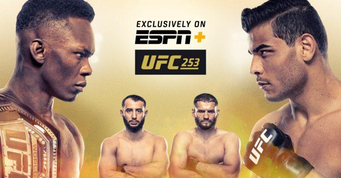 UFC 253 Adesanya vs Costa