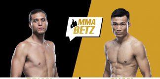 UFC Fight Island 6 Brian Ortega vs Chan Sung Jung The Korean Zombie