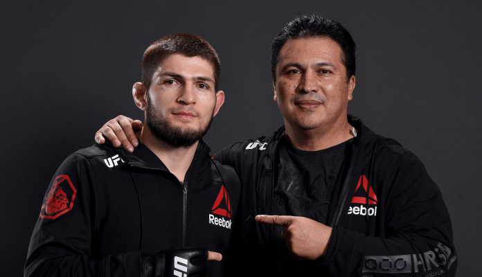 UFC Khabib Nurmagomedov and Javier Mendez