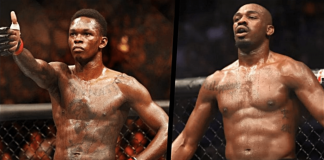 UFC Israel Adesanya and Jon Jones