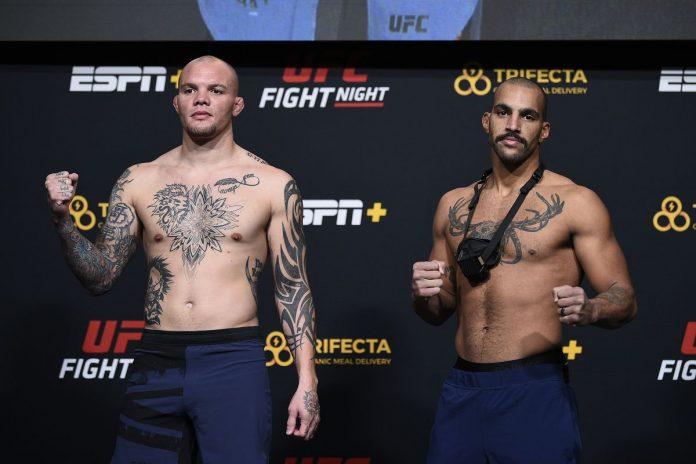 UFC Vegas 15: Anthony Smith vs Devin Clark