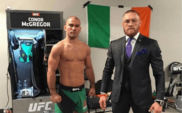 UFC, Artem Lobov and Conor McGregor
