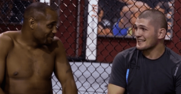 UFC Daniel Cormier and Khabib Nurmagomedov