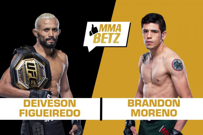 UFC Deiveson Figueiredo vs Brandon Moreno