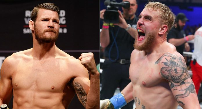 UFC Boxing Michael Bisping and Jake Paul