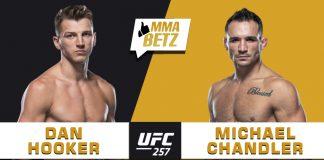 UFC 257 Hooker vs Chandler