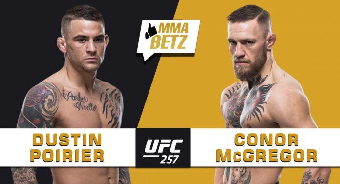 UFC 257 Poirier vs McGregor