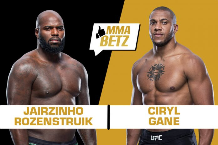UFC Vegas 20, Jairzinho Rozenstruik vs Ciryl Gane