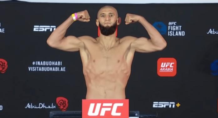 UFC Fight Island 3, Khamzat Chimaev