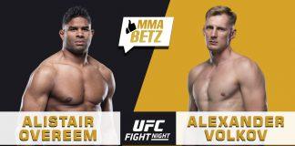 UFC Vegas 18: Alistair Overeem vs Alexander Volkov