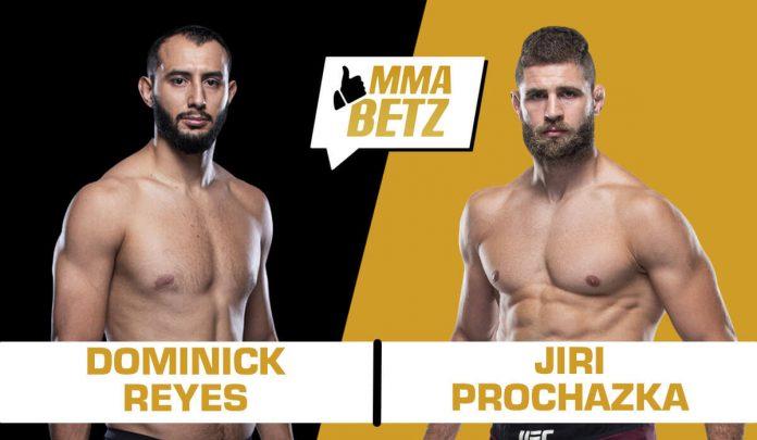 UFC Vegas 25: Dominick Reyes vs Jiri Prochazka
