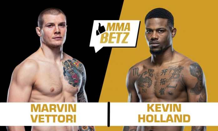 UFC Vegas 23: Marvin Vettori vs Kevin Holland