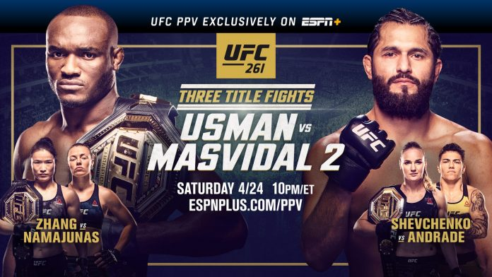UFC 261 results