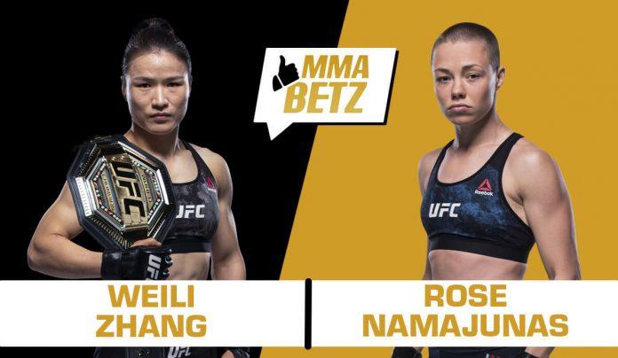 UFC 261: Weili Zhang vs Rose Namajunas
