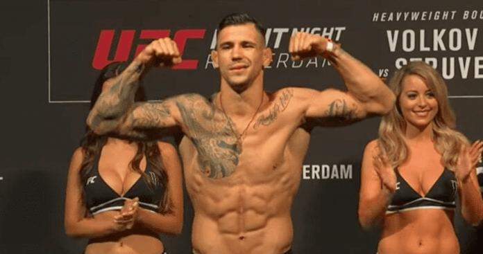 UFC, Aleksandar Rakic