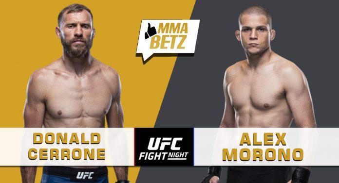 UFC Vegas 26: Cowboy Cerrone vs Alex Morono