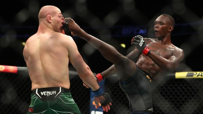 UFC 263: Adesanya vs Vettori