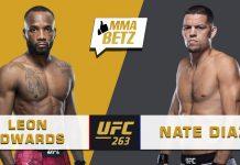UFC 263 Leon Edwards vs Nate Diaz