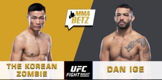 UFC Vegas 29: The Korean Zombie vs Dan Ige