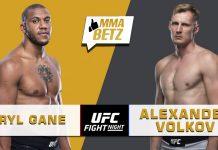 UFC Vegas 30: Ciryl Gane vs Alexander Volkov