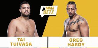 UFC 264: Tai Tuivasa vs Greg Hardy
