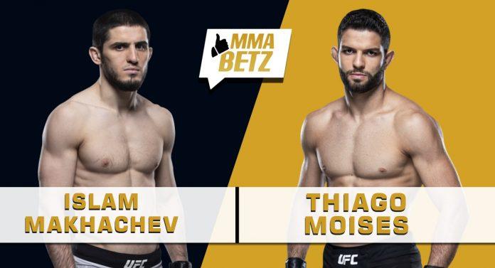 UFC Vegas 31: Islam Makhachev vs Thiago Moises